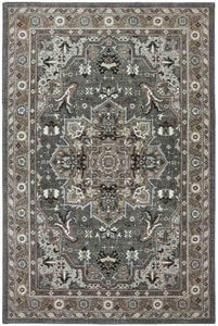 Pet Friendly Euphoria Rhodes Ash Grey Rug stain resistant pet proof cat dog proof karastan