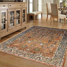 Pet Friendly Spice Market Myanmar Tobacco Rug rugs for dogs and cats stain resistant karastan online