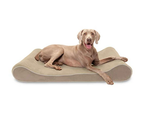 Furhaven Pet Dog Bed - Cooling Gel Foam with Removable Cover for Dogs and Cats