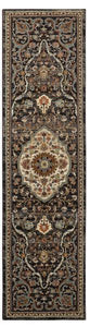 Pet Friendly Spice Market Petra Charcoal Rug stain proof area rug for pets online karastan area rug