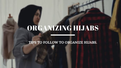 Tips to Organize Your Hijabs & Save Space