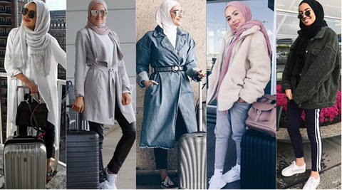 pack hijabs for travel