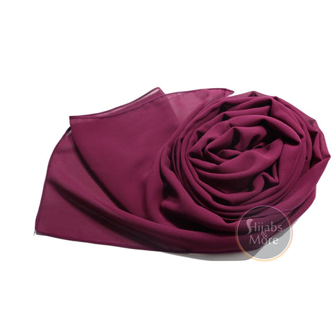 GRAPE Premium Chiffon - Shop Hijabs Canada | Chiffon Hijab | Best Hijab Store in Canada