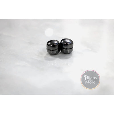 Hijab Magnetic Pins - Set of 2 - Black - Accessories
