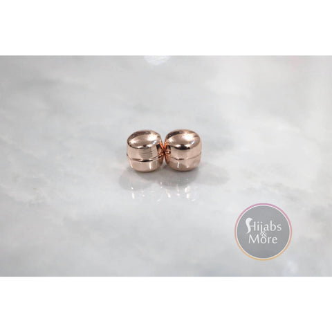 Hijab Magnetic Pins - Set of 2 - Rose Gold - Accessories