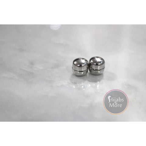 Hijab Magnetic Pins - Set of 2 - Silver - Accessories