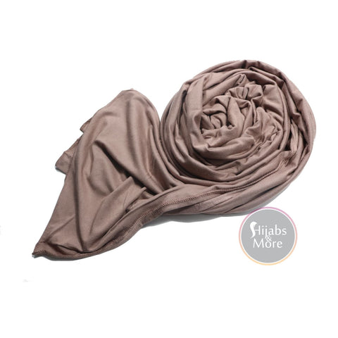 ROSE TAUPE Premium Jersey - Hijabs Jersey Hijabs Canada | Hijabs Store Canada | Free & Fast Shipping GTA