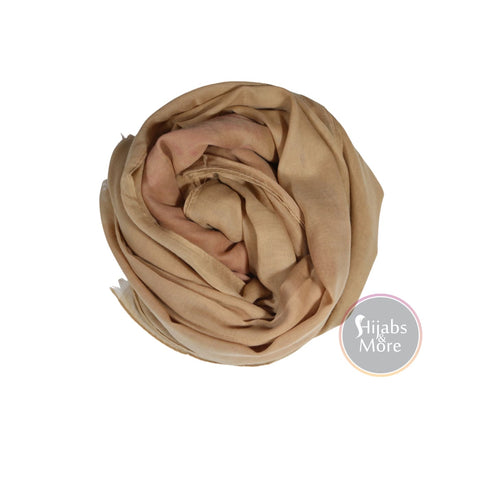 BEIGE Plain Cotton