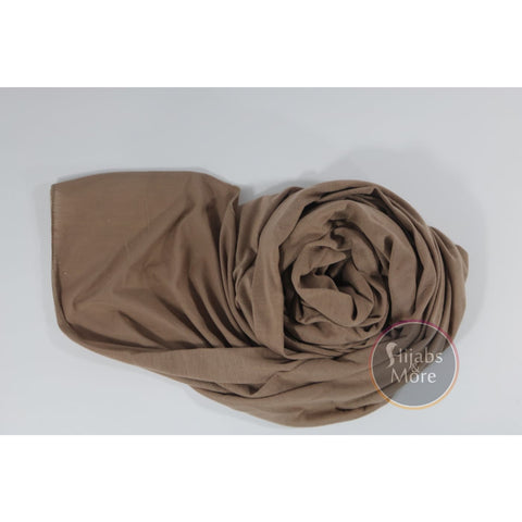 BROWN Instant Hijab
