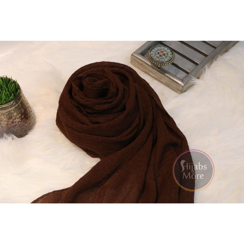 BROWN Plain Rayon