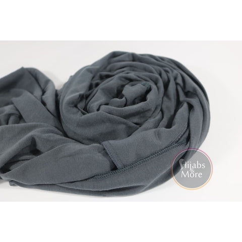 DARK GREY Instant Hijab