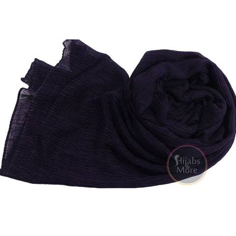 DARK PURPLE Plain Rayon
