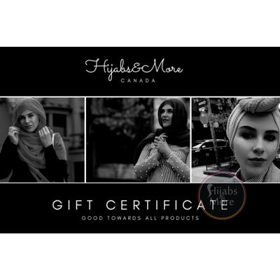 Hijabs&More Gift Card - $100 Gift Card for $95