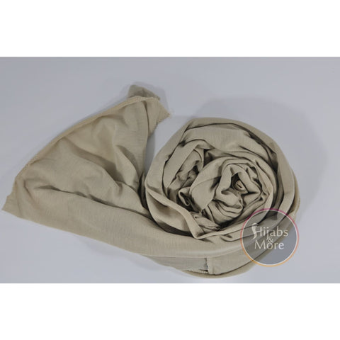 LIGHT BEIGE Instant Hijab