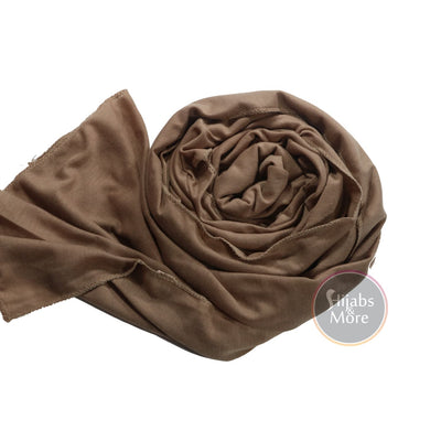 LIGHT BROWN Modal Hijab
