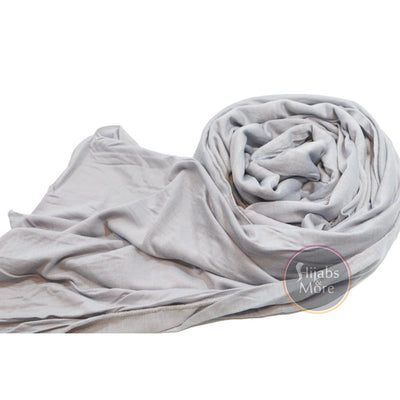 LIGHT GRAY Premium Jersey - Hijabs