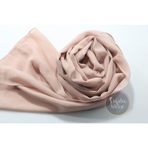 LIGHT PINK Premium Chiffon