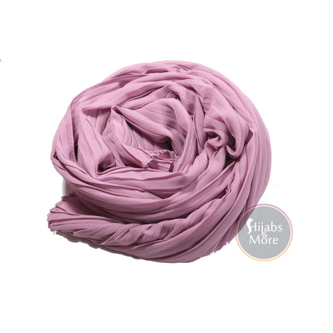 MAUVE Pleated Chiffon