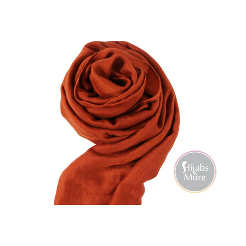 ORANGE Solid Viscose