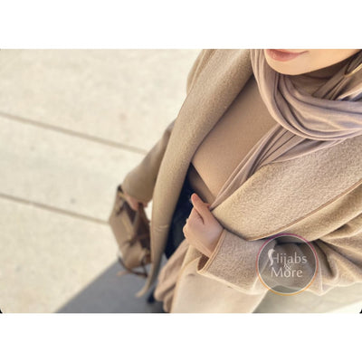 TAUPE Premium Jersey - Hijabs