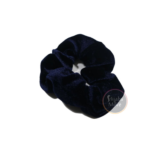 VELVET Scrunchies - BLUE