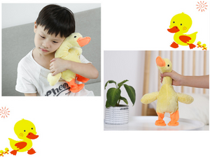 CHRISTMAS SALE Singing Walking Duck Funny Plush Toys