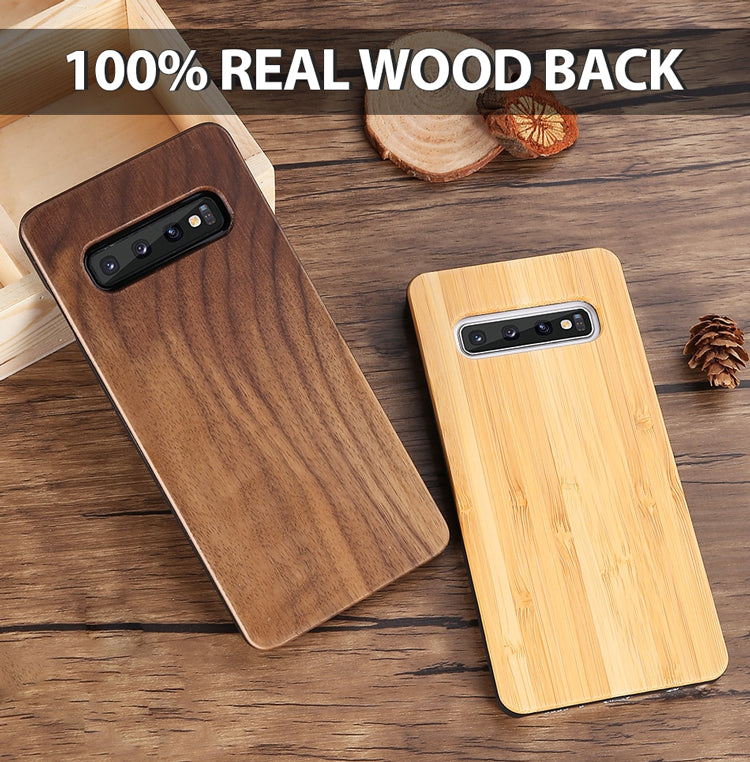 real wooden back