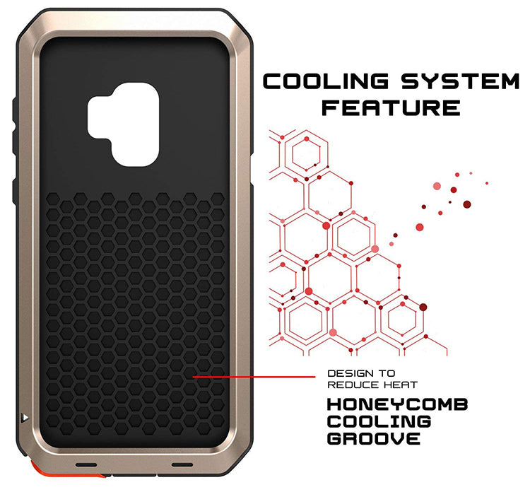 cooling shockproof body