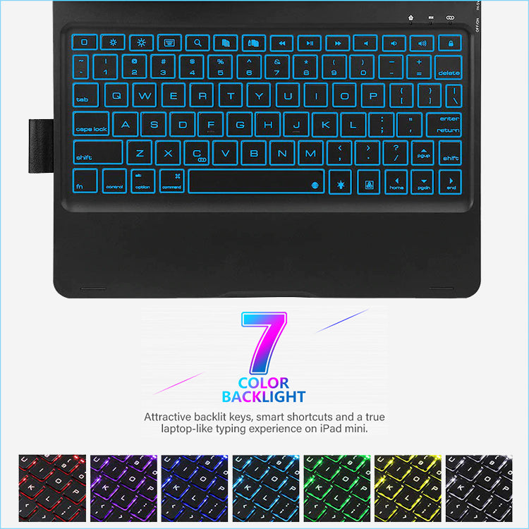 7 color back light keyboard