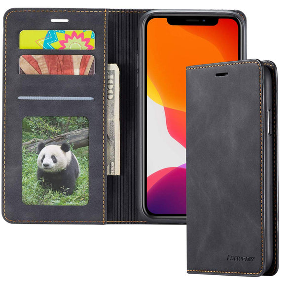Samsung Leather Wallet Phone Case Card Holder - savesummit.com