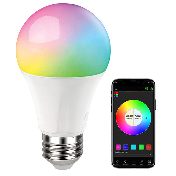 Color Changing Smart Light Bulb - savesummit.com