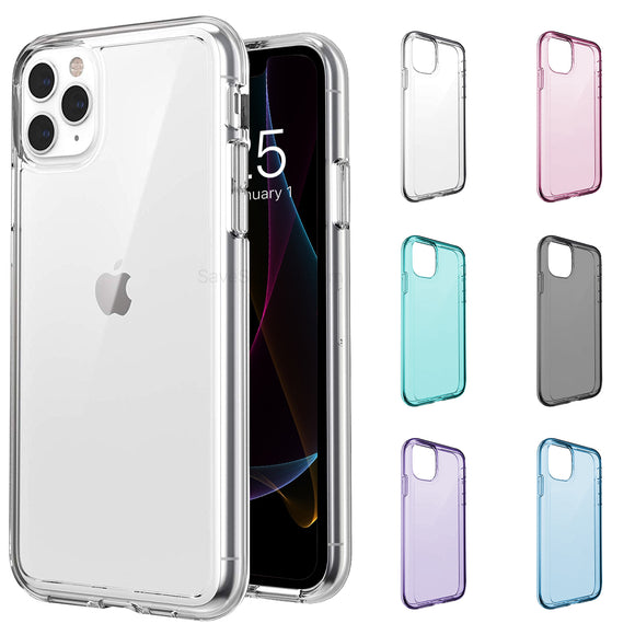 Clear Silicone iPhone Case Soft Shell - savesummit.com