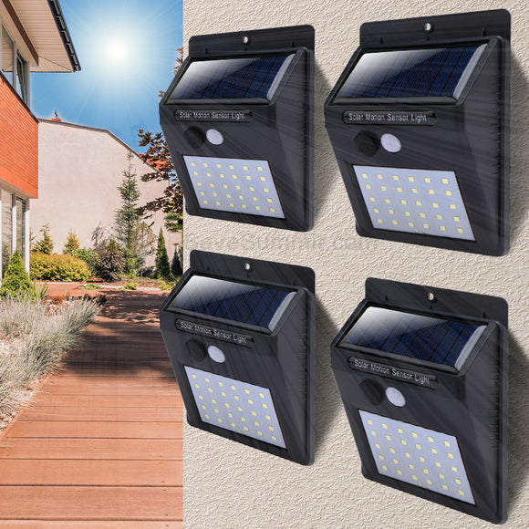 30 LED Solar Motion Sensor Light - savesummit.com