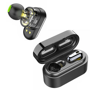 Dual Driver True Wireless Earbuds Extra Bass - savesummit.com