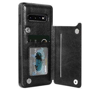 Samsung Magnetic Leather Wallet Case - savesummit.com