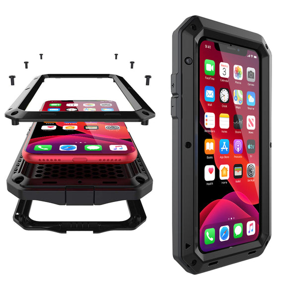 iPhone Metal Shockproof Case - savesummit.com