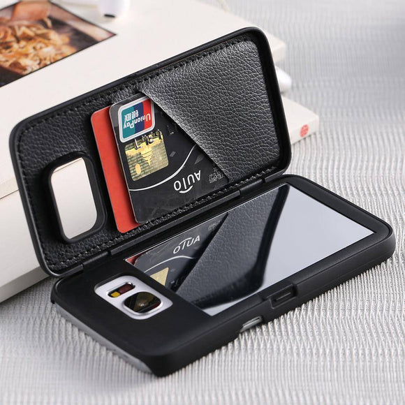 Mirror iPhone Wallet Case - savesummit.com