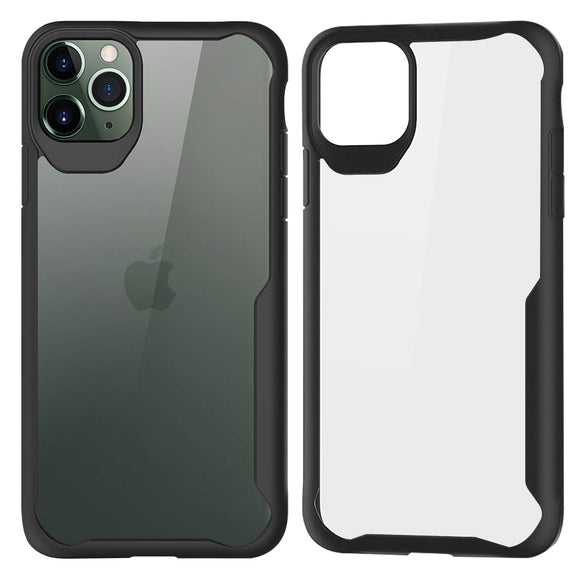 iPhone Shockproof Frame Clear Case - savesummit.com