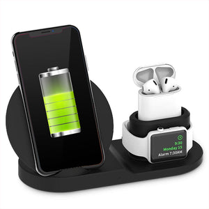 3 in 1 Wireless Charger Dock Station - savesummit.com
