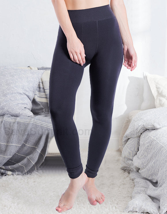 Fleece Lined Thick Winter Leggings - savesummit.com