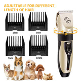 Rechargeable Pet Hair Clippers - savesummit.com