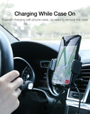 Qi Wireless Car Charger Suction Mount - savesummit.com