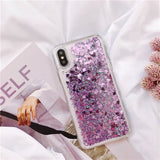 Samsung Cute Liquid Glitter Phone Case - savesummit.com