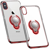 iPhone Magnet Kickstand Ring Case Finger Loop - savesummit.com