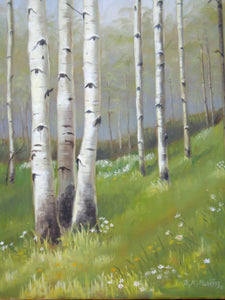 Birch Hillside