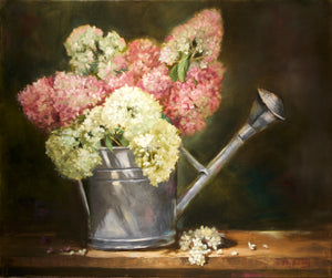 """Antique Watering Can""  20x24"