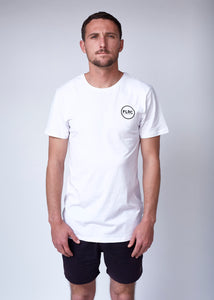 Shucka Tee - White, Short Sleeve