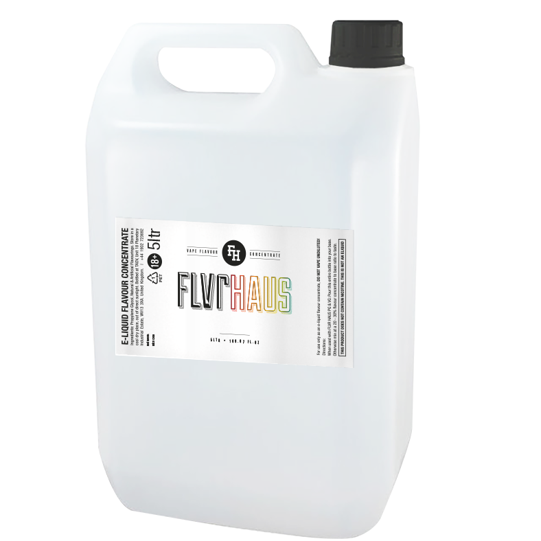 5 Litre FLVRHAUS Concentrate by The Ace of Vapez for all your DIY Vaping Needs