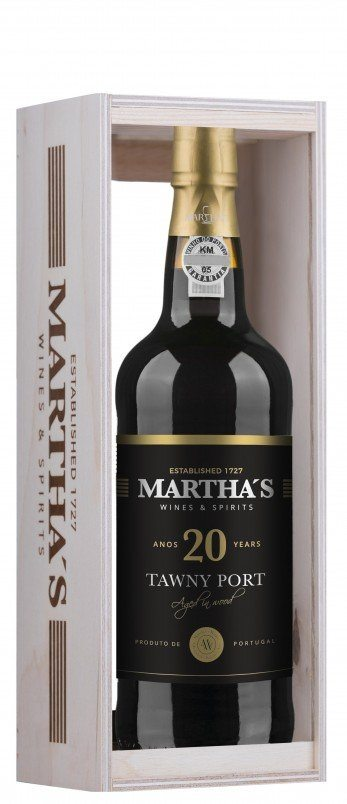 Martha's Wines & Spirits - Martha´s 20 Year Old Tawny Port - Rotwein