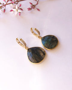 AURA ELEVADA Labradorite Earrings